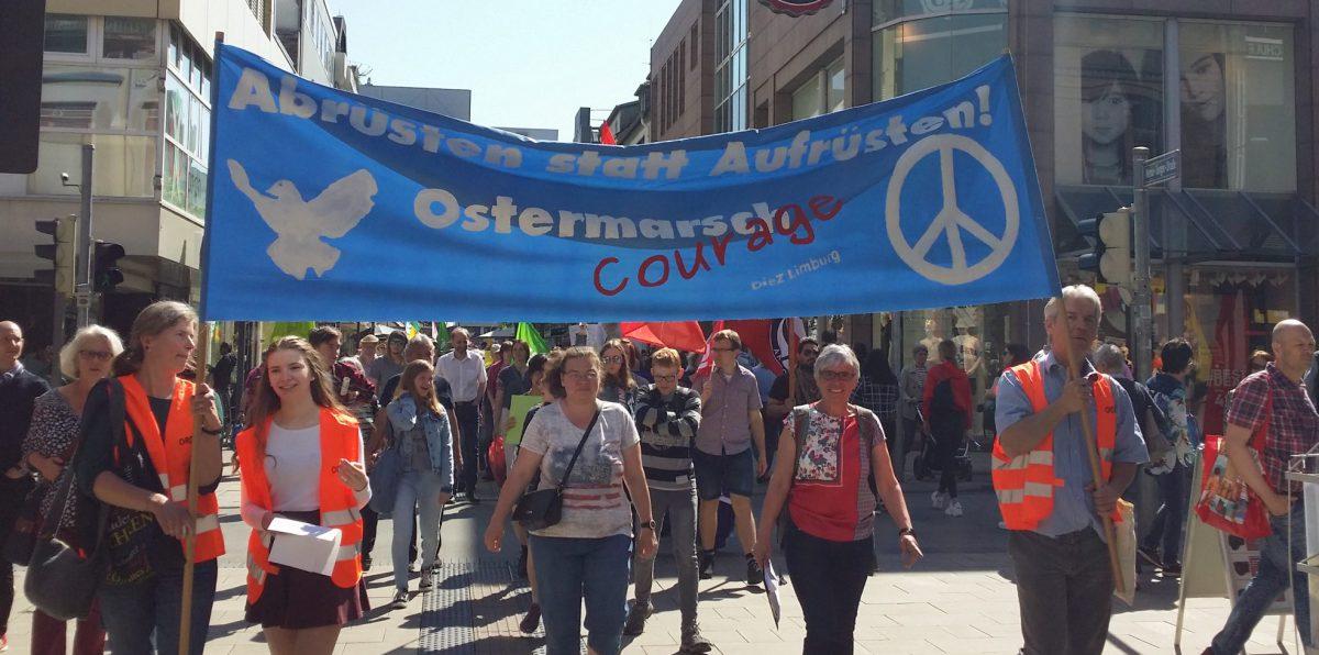 Jetzt erst recht: Zu Ostern für Frieden und Abrüstung!